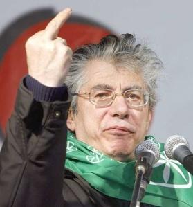 """Umberto Bossi in """"Uno per Tutti..."""""""