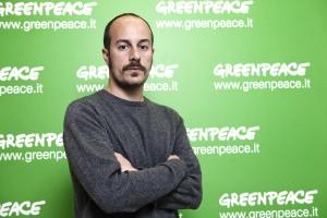 Andrea Boraschi responsabile della campagna Energia e Clima di Greenpeace