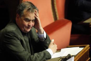 Roberto Calderoli, ideatore del Porcellum